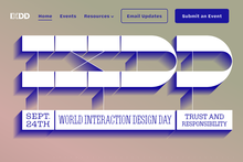 2019 World Interaction Design Day