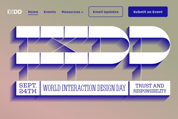 2019 World Interaction Design Day 1