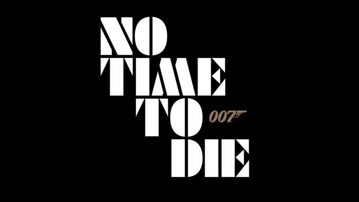 No Time To Die logo and teaser 1
