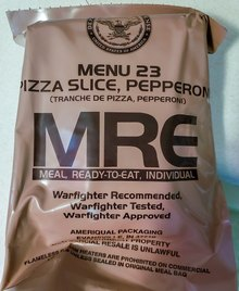 Meal, Ready-to-Eat packaging