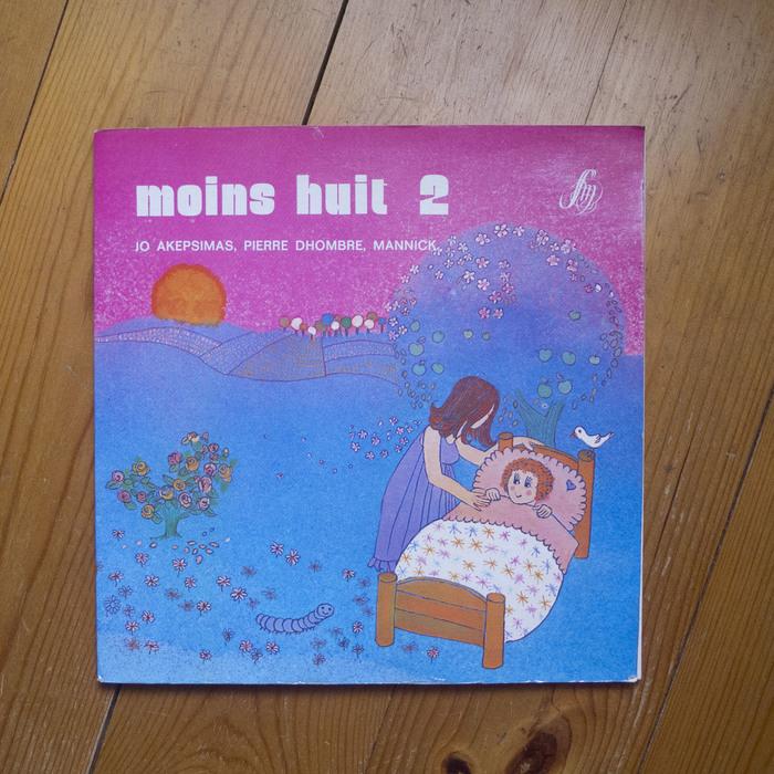 Jo Akepsimas, Pierre Dhombre, Mannick – Moins huit/ Plus huit album art 2