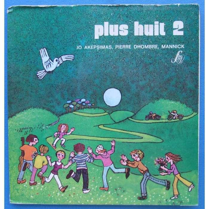 Jo Akepsimas, Pierre Dhombre, Mannick – Moins huit/ Plus huit album art 4