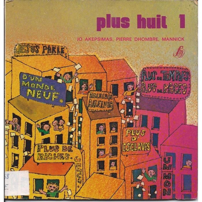 Jo Akepsimas, Pierre Dhombre, Mannick – Moins huit/ Plus huit album art 3