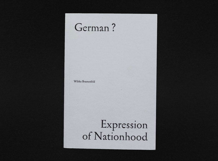 German? Expression of Nationhood 1