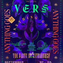 The Party by Ostbahnhof presents <cite>VERS: Anything Goes</cite>, September 2019