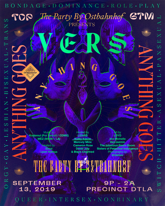 The Party by Ostbahnhof presents VERS: Anything Goes, September 2019 1