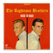 The Righteous Brothers – <cite>Back To Back </cite>album art