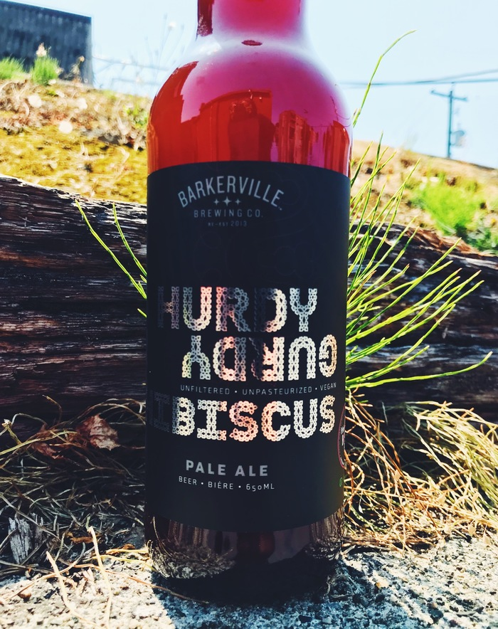 Hurdy Gurdy Hibiscus Pale Ale 1
