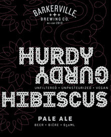 Hurdy Gurdy Hibiscus Pale Ale