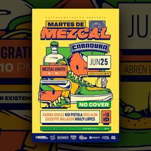 Martes de Mezcal concert poster