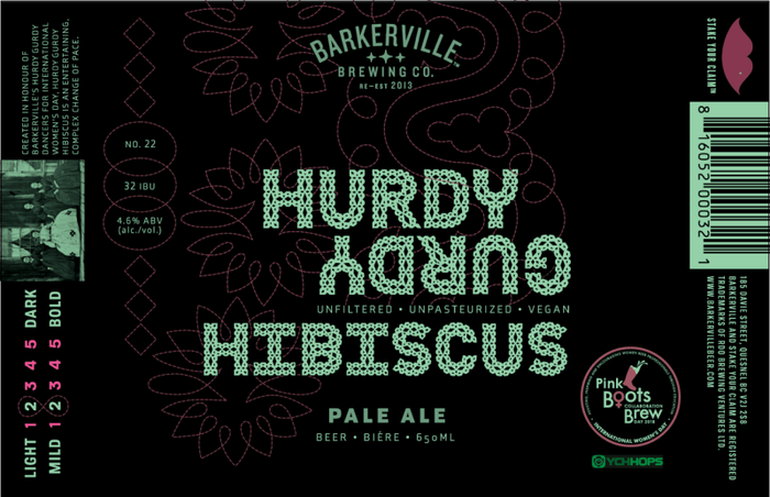 Hurdy Gurdy Hibiscus Pale Ale 3