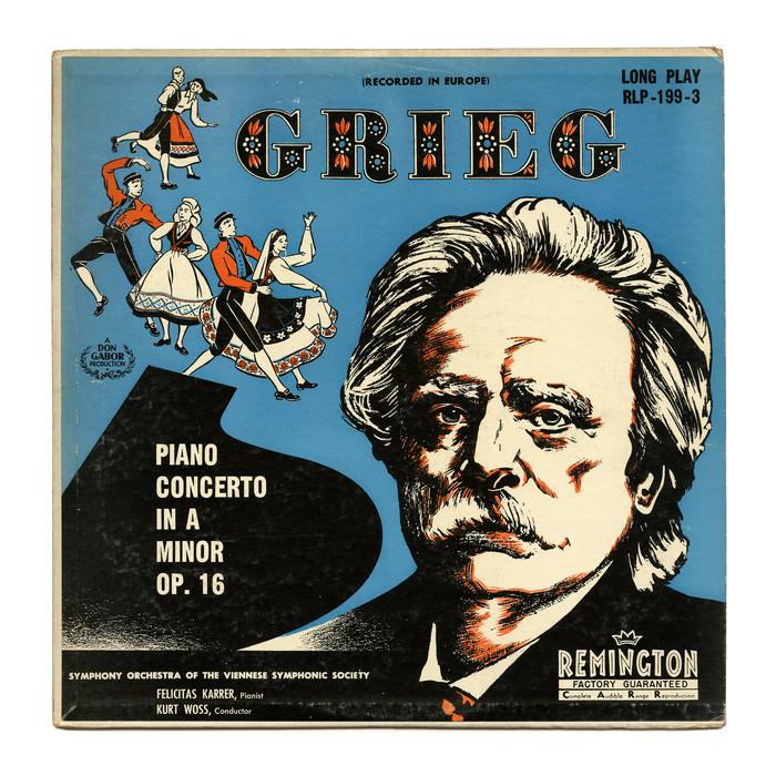 Grieg: Piano Concerto In A Minor Op.16 1