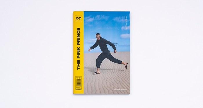 "The Pink Prince magazine cover, No.07 ""Survivor"" 4"