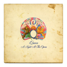 Queen – <cite>A Night at the Opera </cite>album art