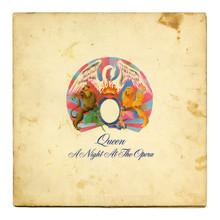 Queen – <cite>A Night at the Opera </cite>album art