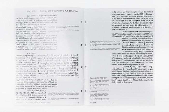 Ékezetek (Diacritics) thesis 5