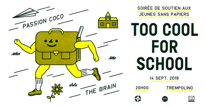 Too Cool for School fundraiser 1