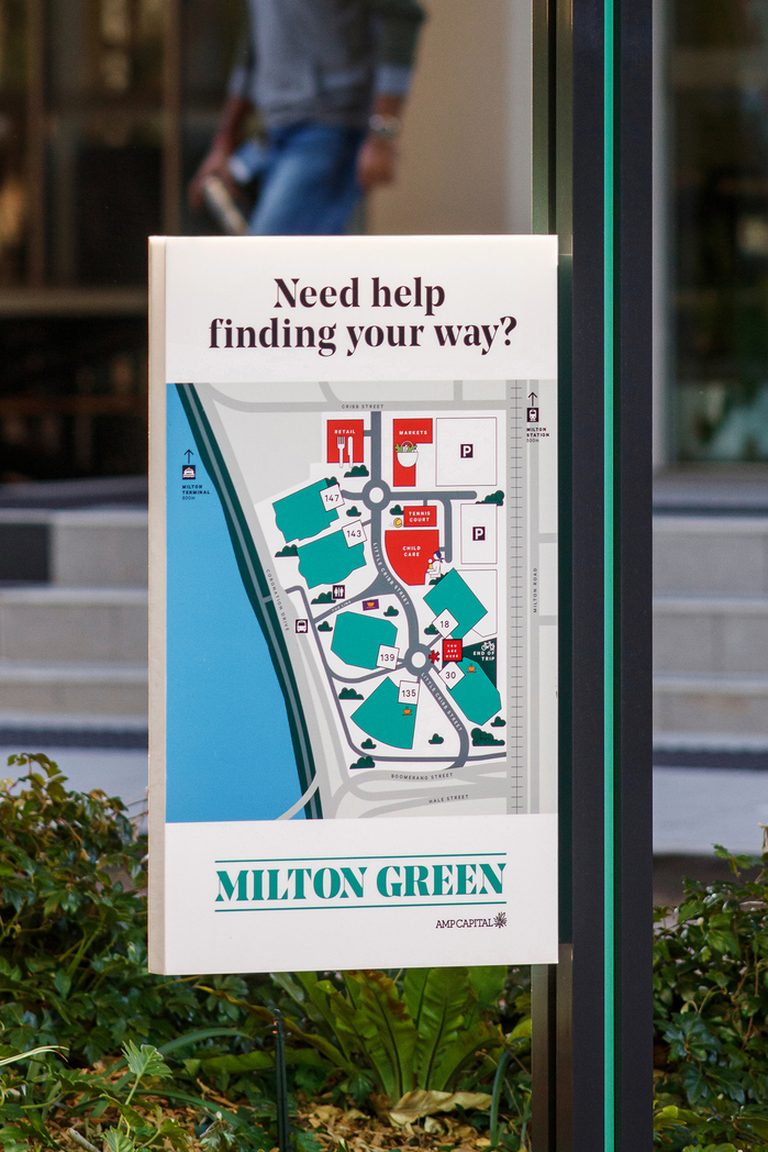 Milton Green wayfinding and signage 3