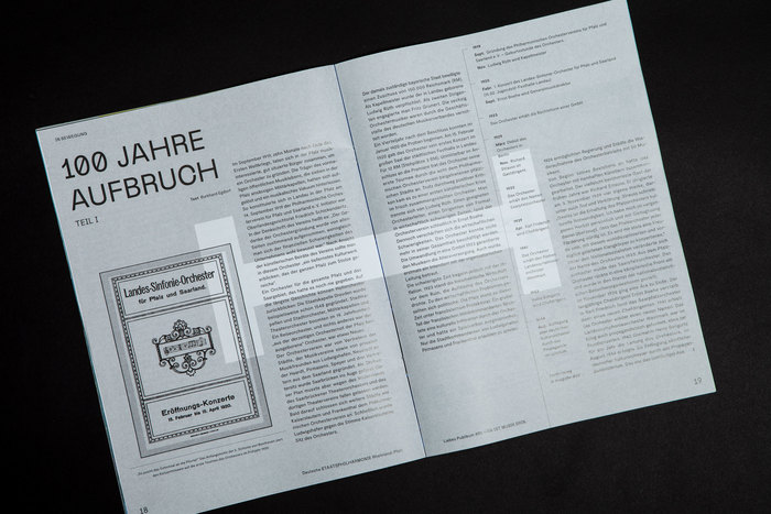 Deutsche Staatsphilharmonie Rheinland-Pfalz magazine #01 5