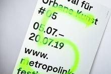 Metropolink Festival für Urbane Kunst 2019 poster