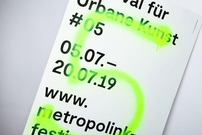 Metropolink Festival für Urbane Kunst 2019 poster 1