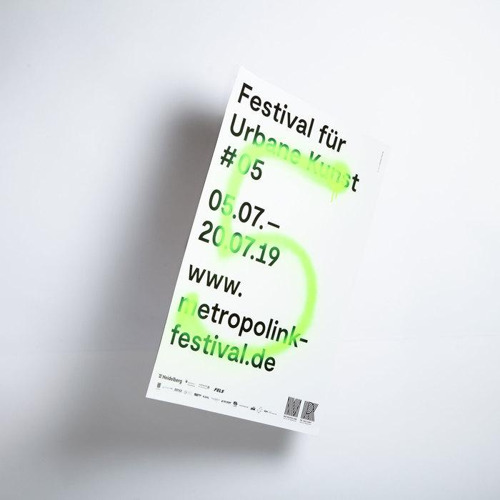 Metropolink Festival für Urbane Kunst 2019 poster 2