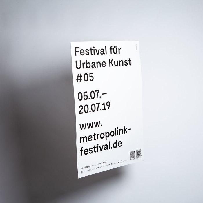 Metropolink Festival für Urbane Kunst 2019 poster 3
