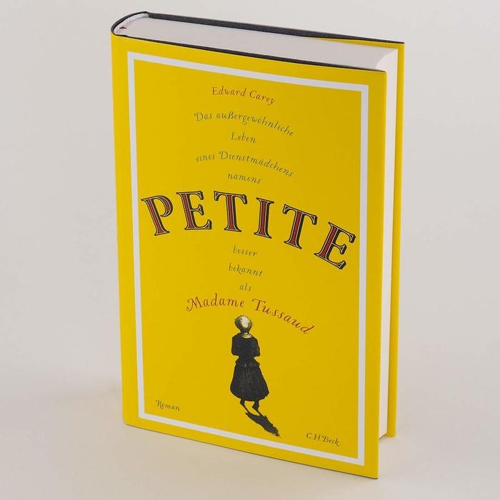 Petite by Edward Carey (German edition, C.H. Beck) 3