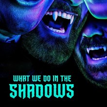 <cite>What We Do in the Shadows</cite> (FX series) logo