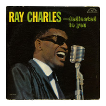 Ray Charles – <cite>Dedicated To You</cite> album art