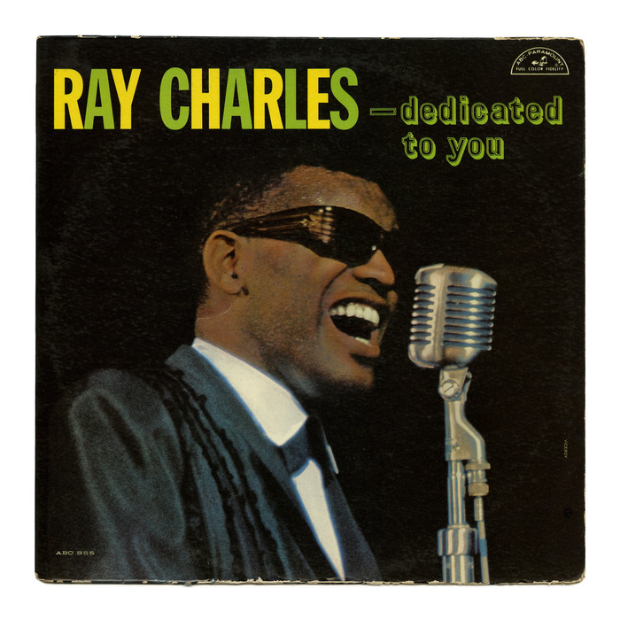 Ray Charles – Dedicated To You album art