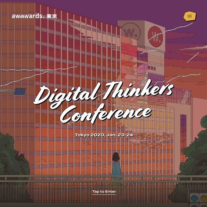 Awwwards Web Design Conference Tokyo 2020 1