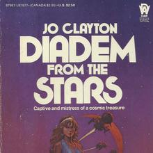 <cite>Diadem from the Stars</cite> by Jo Clayton (DAW)