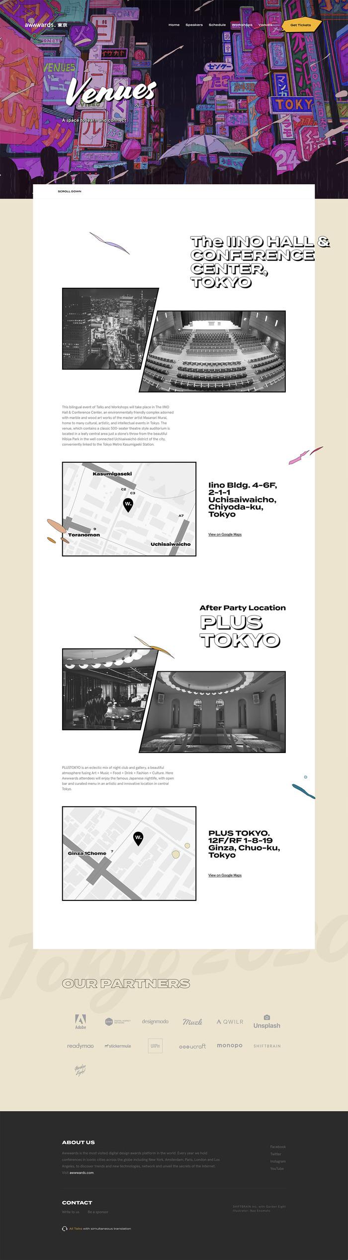 Awwwards Web Design Conference Tokyo 2020 4