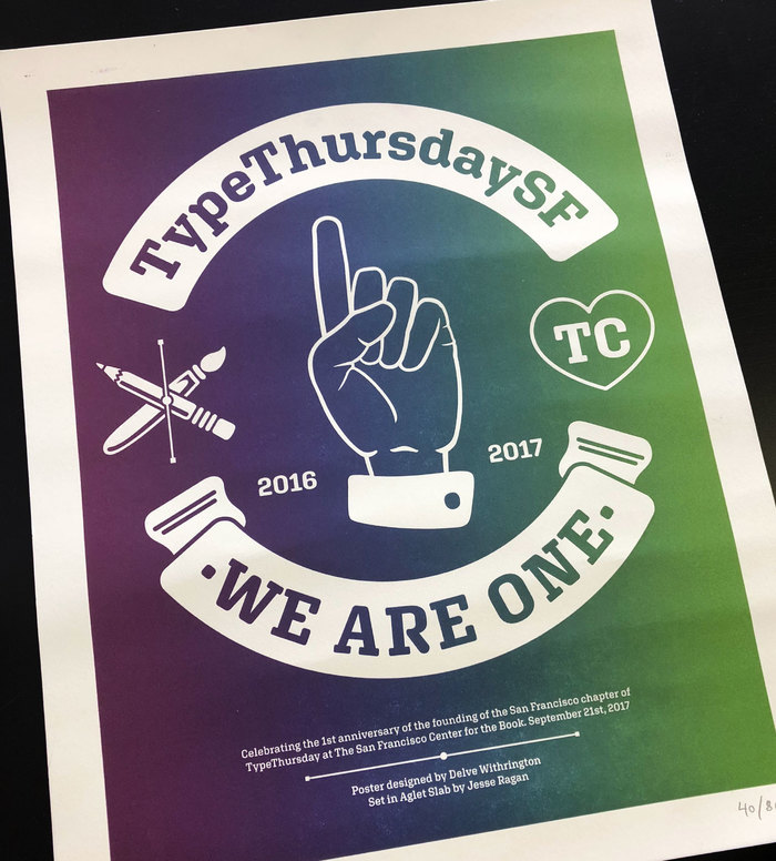 TypeThursdaySF: We Are One 2
