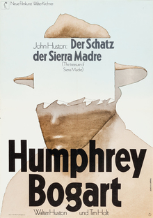 <cite>Der Schatz der Sierra Madre</cite> (1966) and <cite>Tote schlafen fest</cite> (1972) movie posters