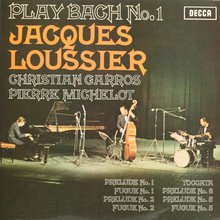 Jacques Loussier – <cite>Play Bach</cite>