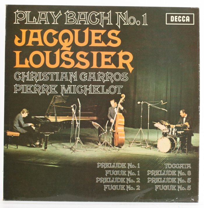Jacques Loussier – Play Bach 3