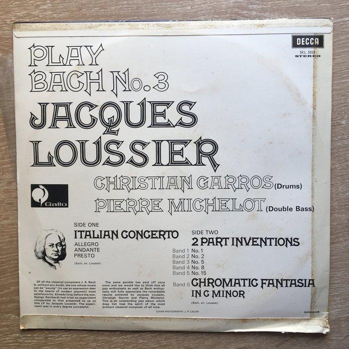 Jacques Loussier – Play Bach 6