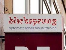 Blicksprung optometrisches Visualtraining