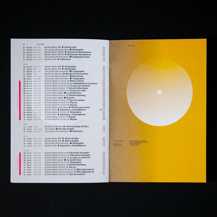 Musée de l'imprimerie et de la communication, 2019–2020 2