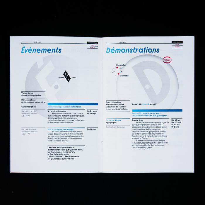 Musée de l'imprimerie et de la communication, 2019–2020 4