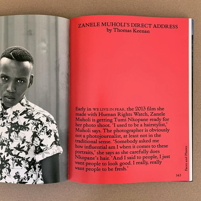 "Foam magazine #41, ""The Messenger"" 3"