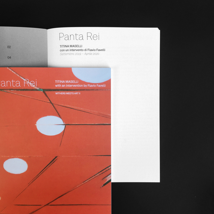 Panta Rei – Titina Maselli with an intervention by Flavio Favelli 1
