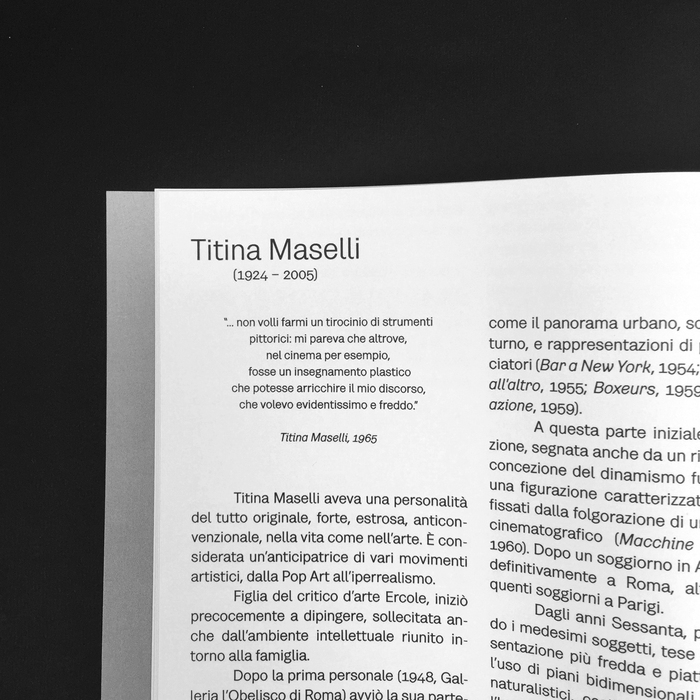 Panta Rei – Titina Maselli with an intervention by Flavio Favelli 3