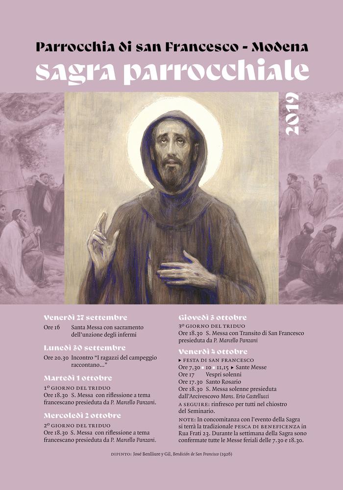 Sagra Parrocchiale 2019, Modena 1