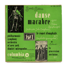 Philharmonic-Symphony Orchestra of New York – <cite>Danse Macabre</cite> et al. album art