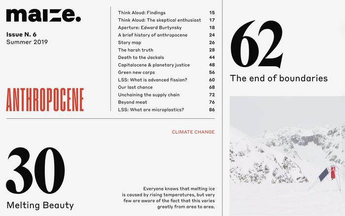 Maize magazine 06, Summer 2019 2