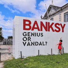 <cite>Banksy: Genius or Vandal?</cite>