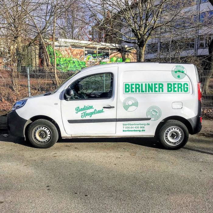 Another car from the brewery's fleet, from February 2019.